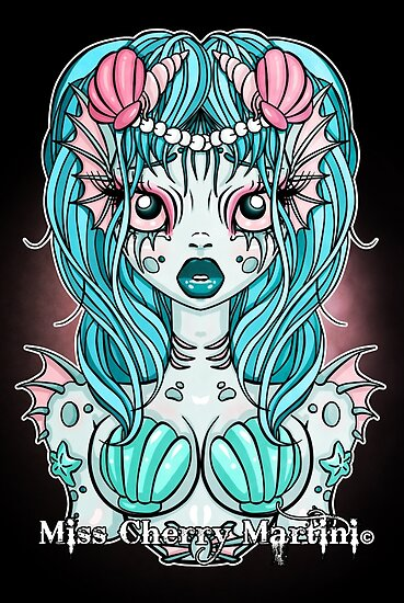"""My Little Mermaid"" by Miss Cherry  Martini"
