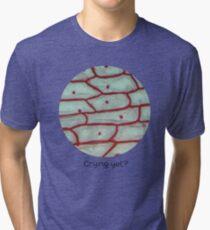 Crying yet? (Onion Epidermis microscopy)  Tri-blend T-Shirt