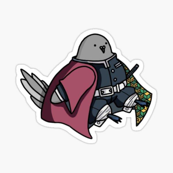 Tomioka sitting pigeon Sticker