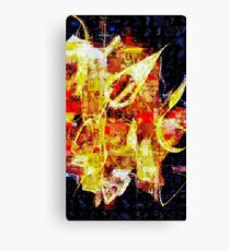 The Golden Compass by Floria Rey Canvas Print