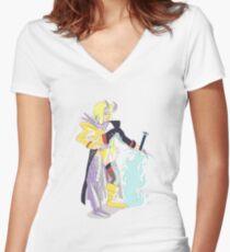 80s Magik Women's Fitted V-Neck T-Shirt