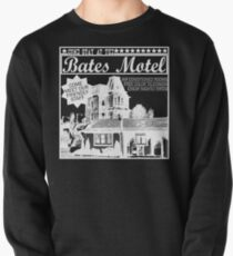 Bates Motel - White Type Pullover