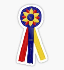 Champion Ribbon Sticker