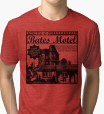 Bates Motel - Black Type Tri-blend T-Shirt