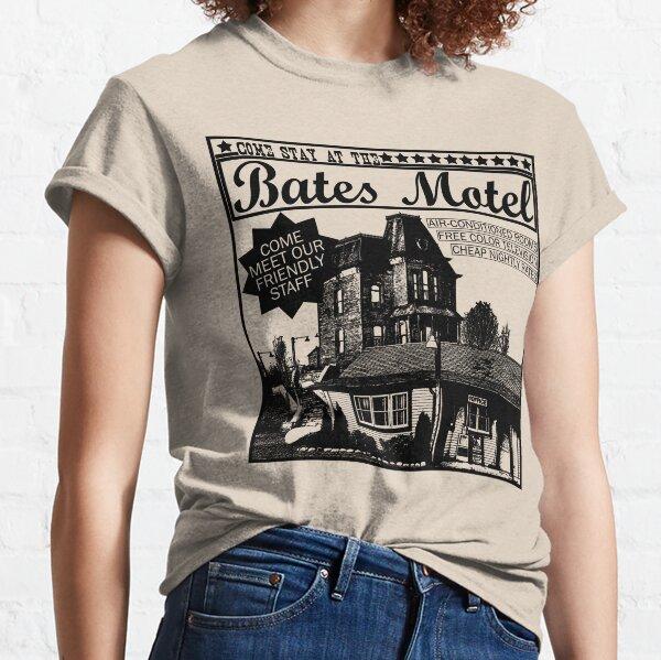 Bates Motel - Tipo negro Camiseta clásica