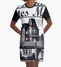 Bates Motel - Black Type Graphic T-Shirt Dress