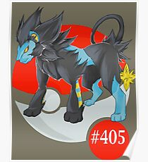 Luxray #405 Poster