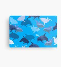 Aquaflage Metal Print
