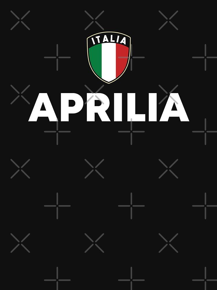 Aprilia Italia Flag Shield Lazio Roots by zeno27