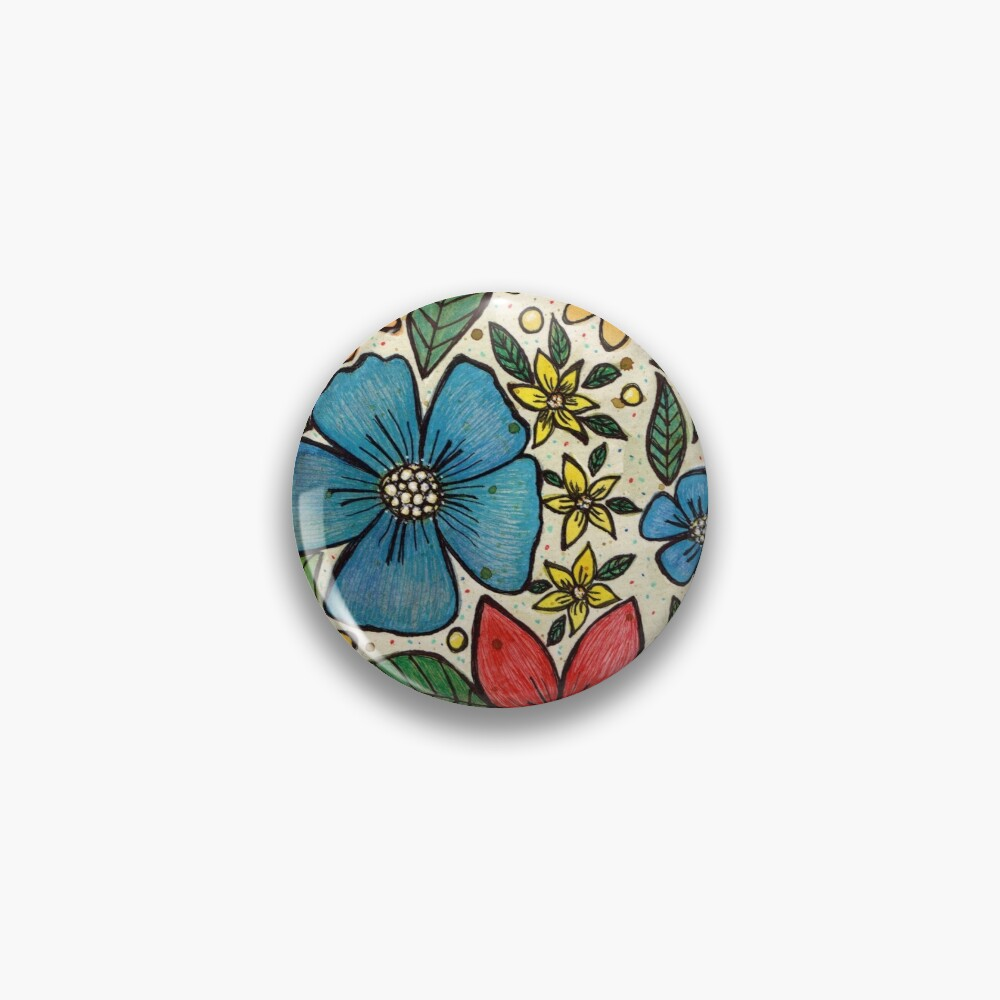 Country Flowers  Pin