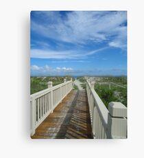 Hilton Head beach, Palmetto Dunes Canvas Print