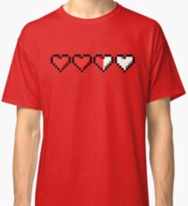 Two and a Half Hearts Remaining Classic T-Shirt
