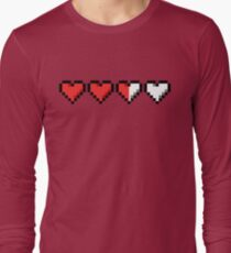 Two and a Half Hearts Remaining Long Sleeve T-Shirt