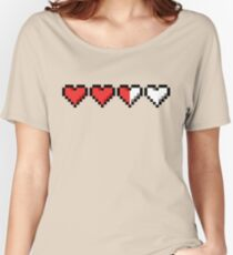 Two and a Half Hearts Remaining Women's Relaxed Fit T-Shirt