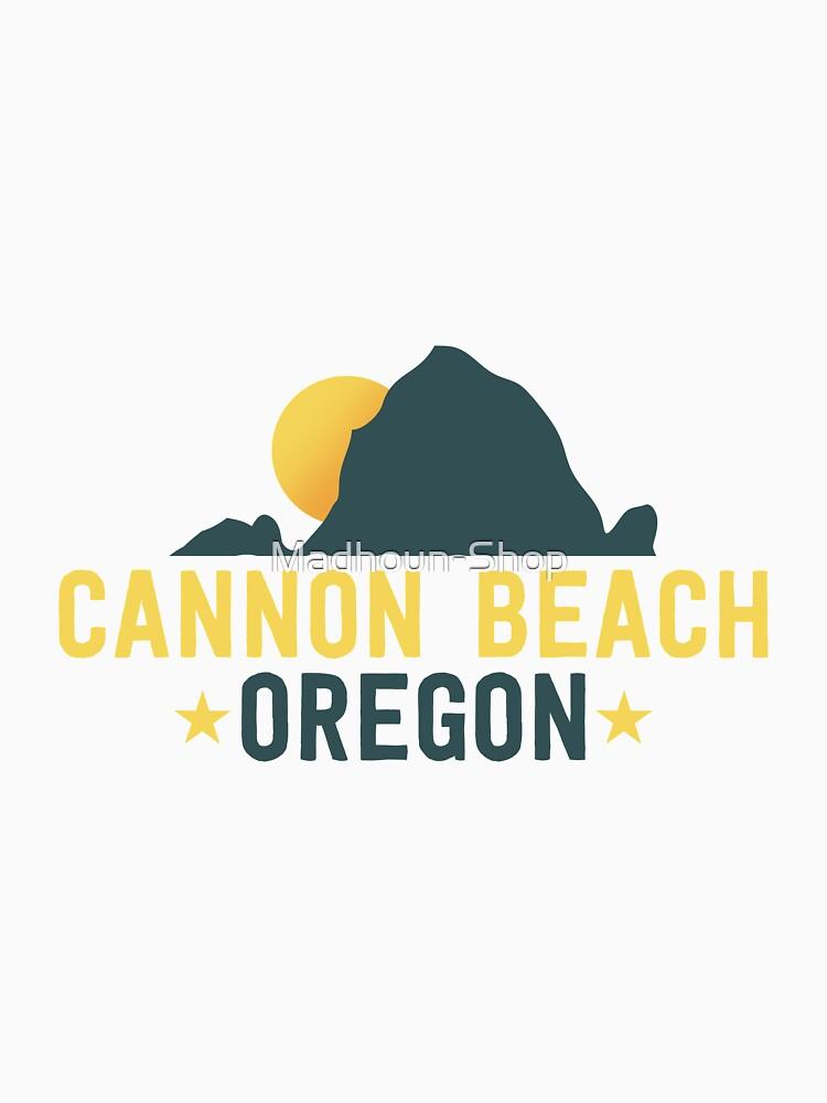 Cannon Beach Oregon by Madhoun-Shop