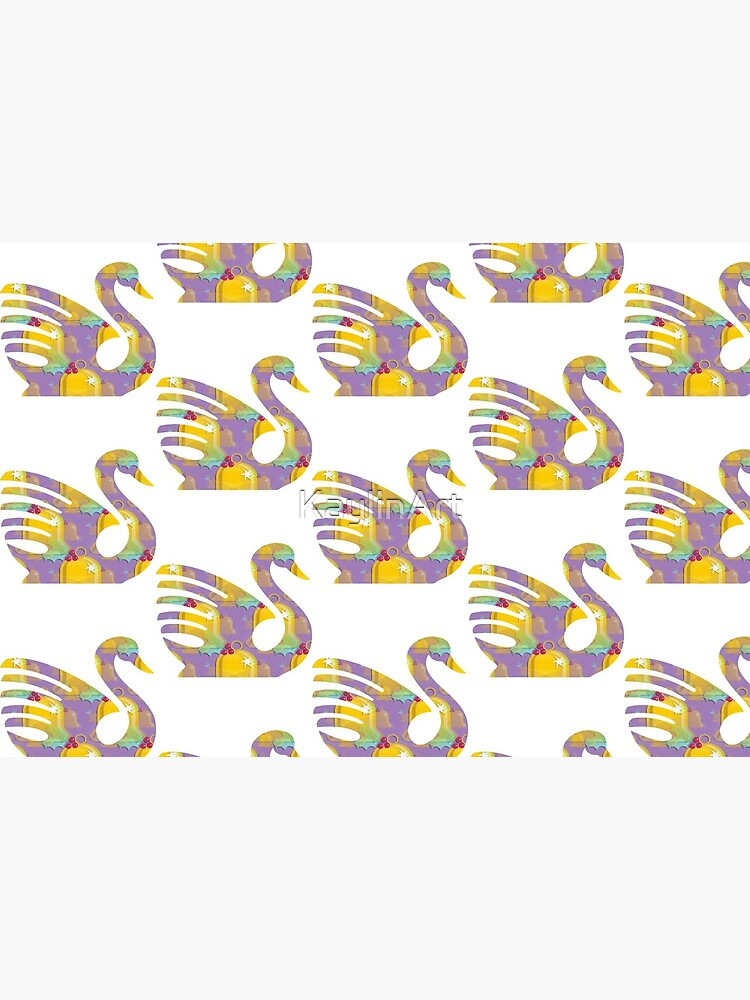 Swan Bird Funny (75) by KaylinArt