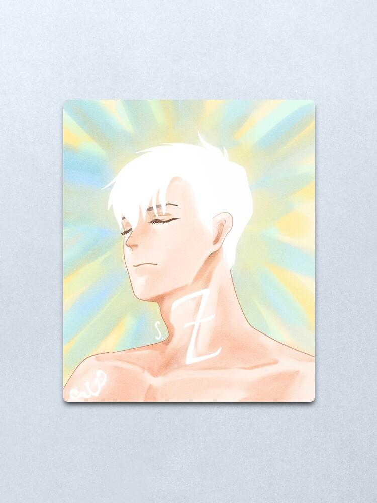 Alternate view of Alec LIGHTwood Metal Print