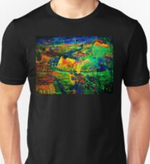 Rob Gamble and Glenn Prior's Quest for Truth night time copy right 2011 Unisex T-Shirt