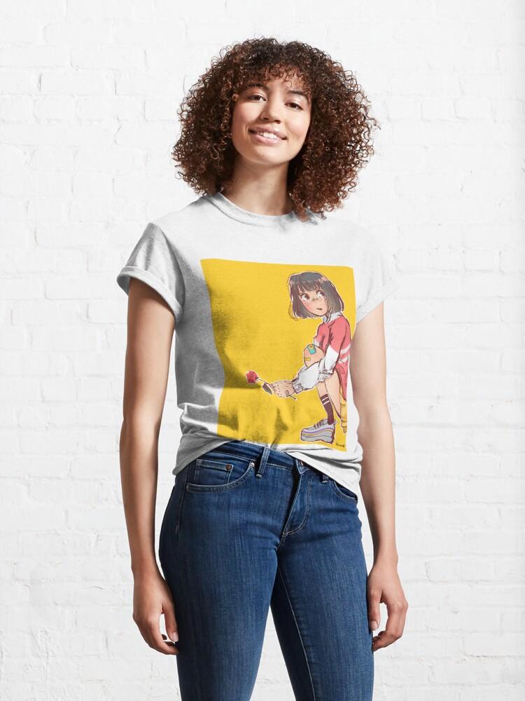 Alternate view of flower Classic T-Shirt