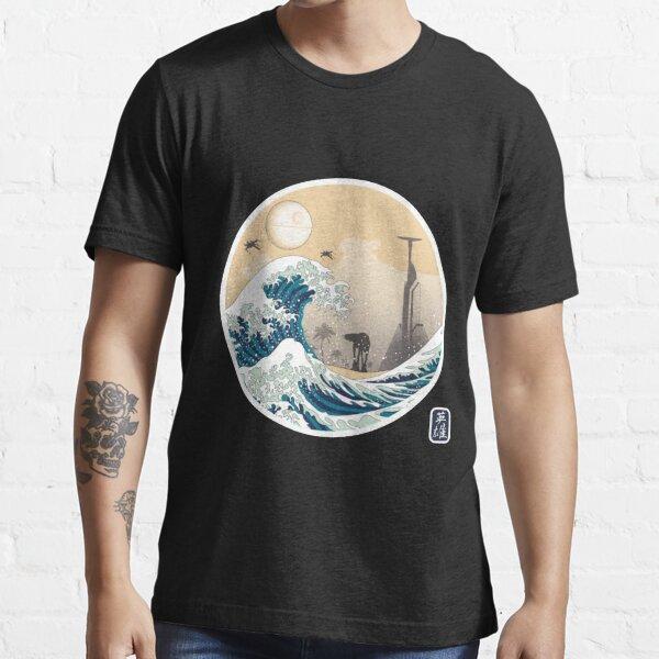 Art 90s The Great Wave off Kanagawa Essential T-Shirt