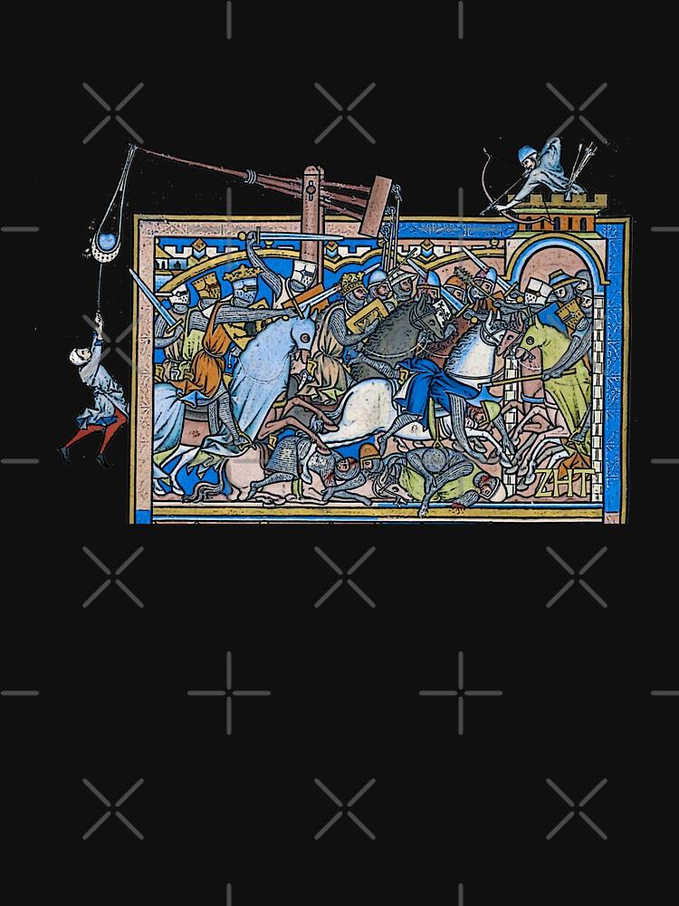 The Crusader Bible by ZuluHistoryTees