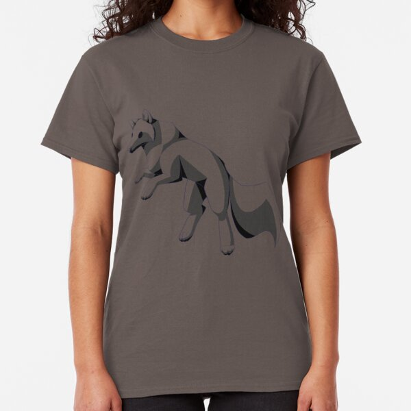 Jumping Wolf Classic T-Shirt