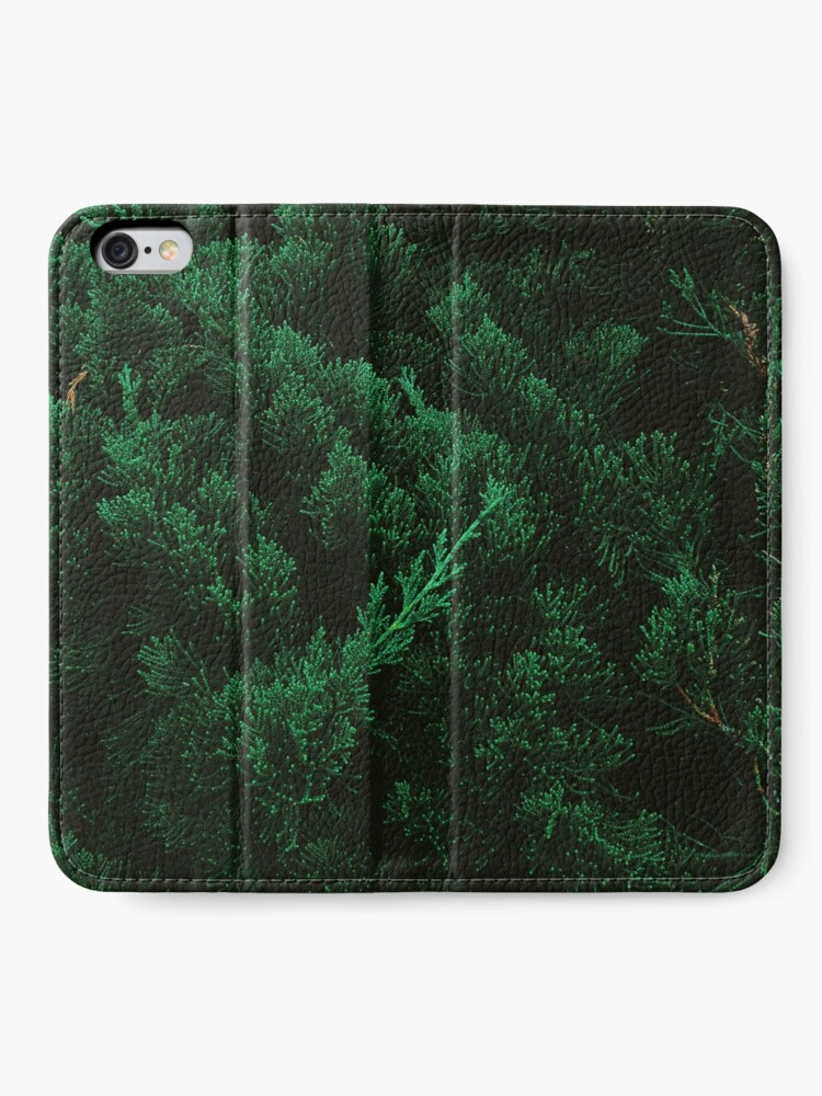 Alternate view of Pine trees iPhone Wallet