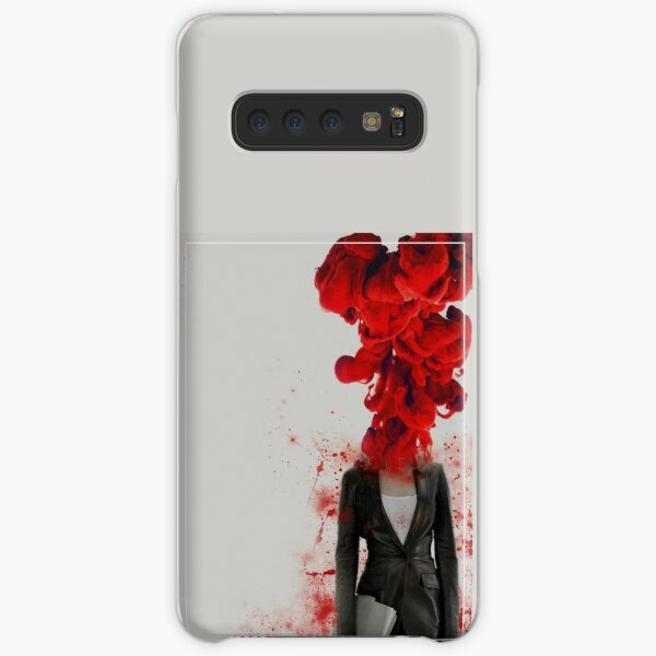 Black Widow Red 3 Samsung Galaxy Snap Case