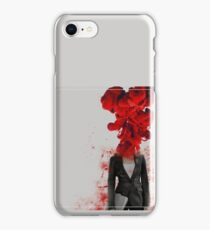 Black Widow Red 3 iPhone Case/Skin