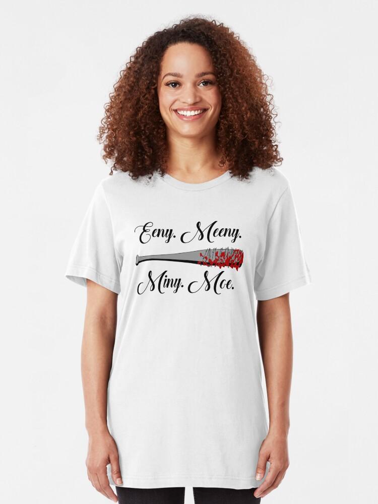 Alternative Ansicht von Die Walking Dead - Lucille Eeny Meeny Slim Fit T-Shirt