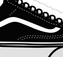 Shoes - old school Sticker