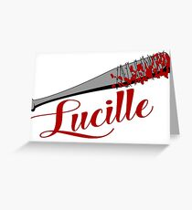 The Walking Dead - Lucille Greeting Card