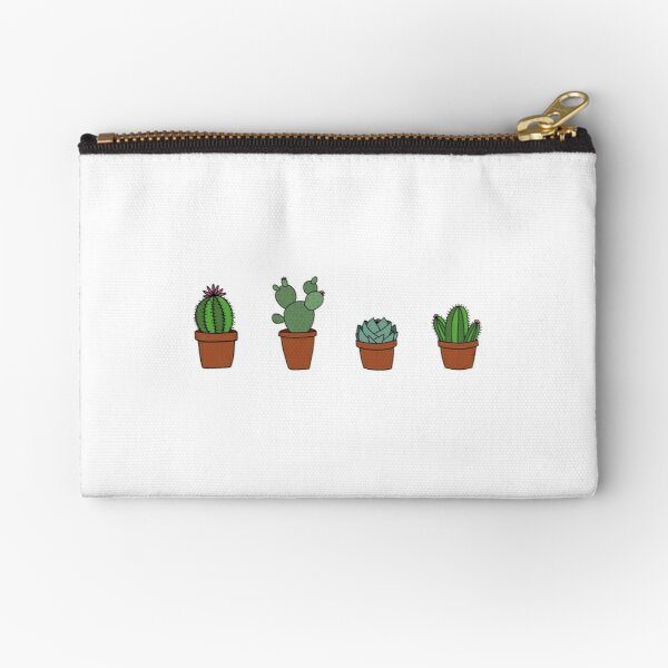 Cacti Zipper Pouch