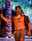 """Maori """"Warrior"""" at Hangi by Yukondick"""