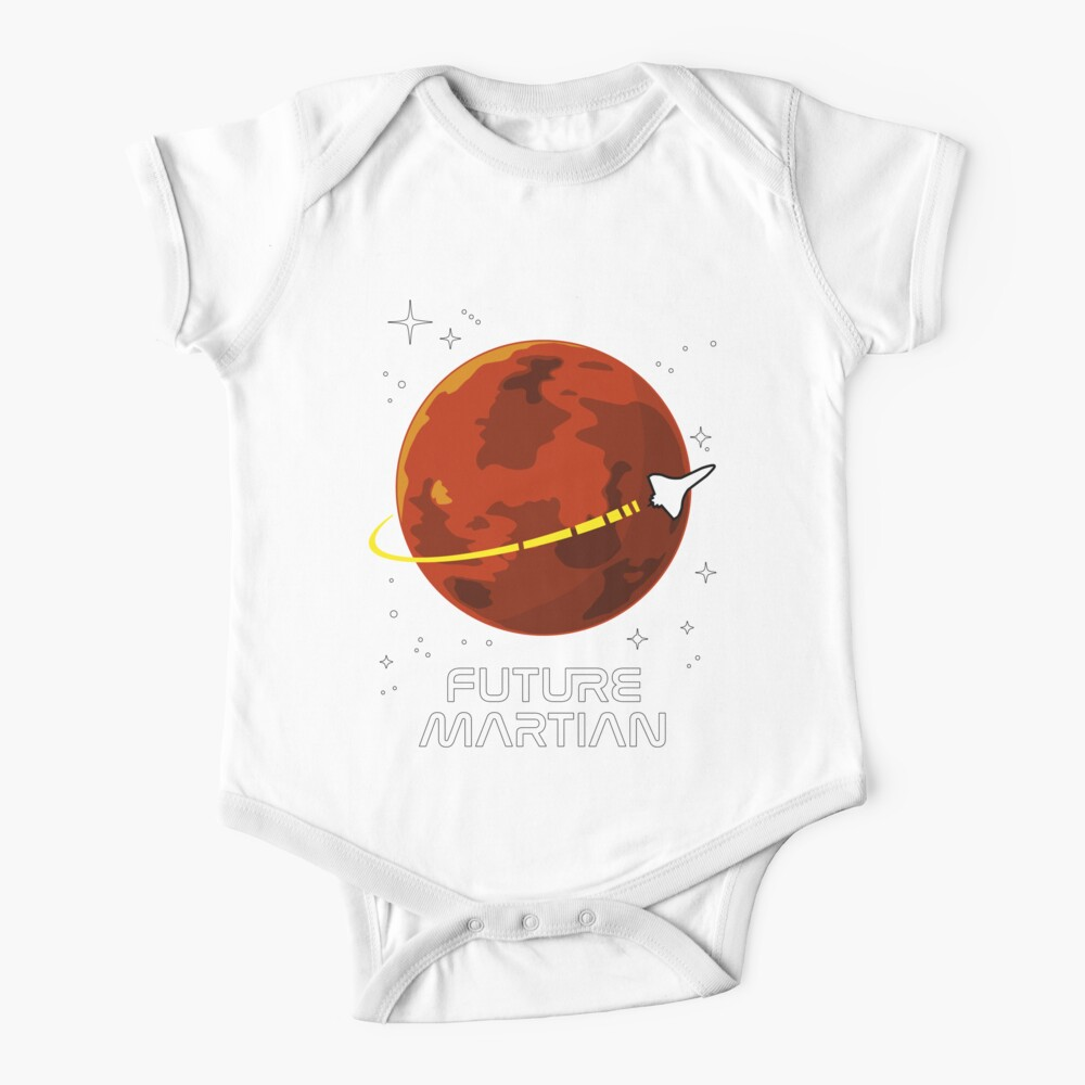 SPACE KIDS - Future Martian Baby One-Piece