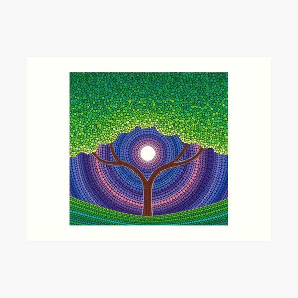 Happy Tree of Life Art Print