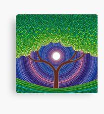 Happy Tree of Life Canvas Print