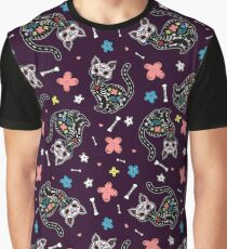 Camiseta gráfica Dia de los Gatos