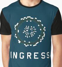 Ingress Loading Screen (with writing) Graphic T-Shirt