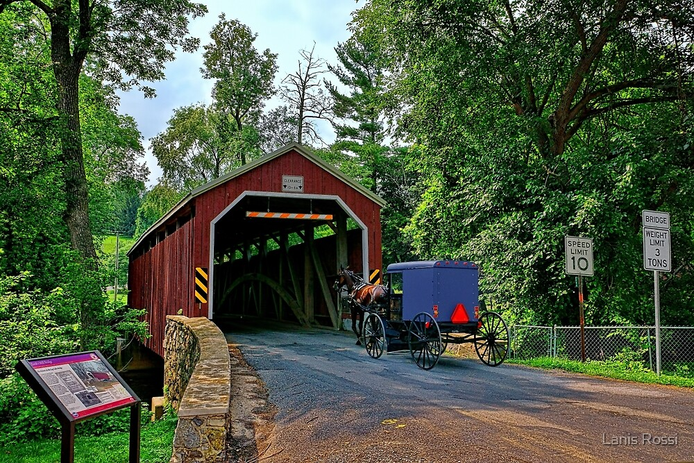 The Bridges of Lancaster County, PA by Lanis Rossi