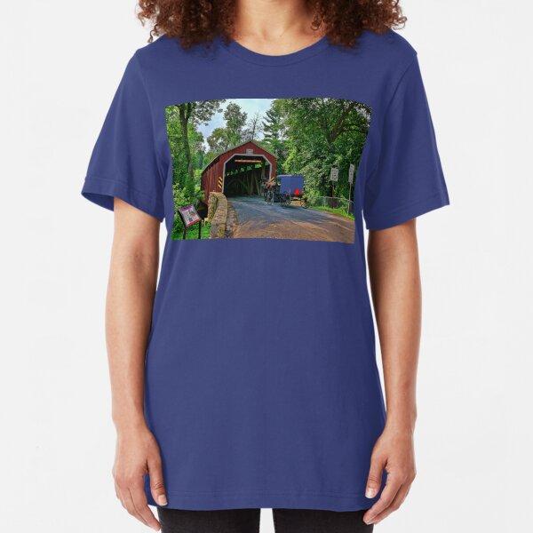 The Bridges of Lancaster County, PA Slim Fit T-Shirt