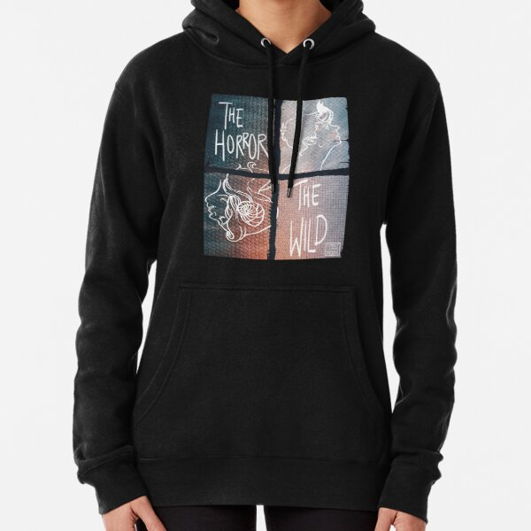 The Horror and The Wild - Window Print Pullover Hoodie