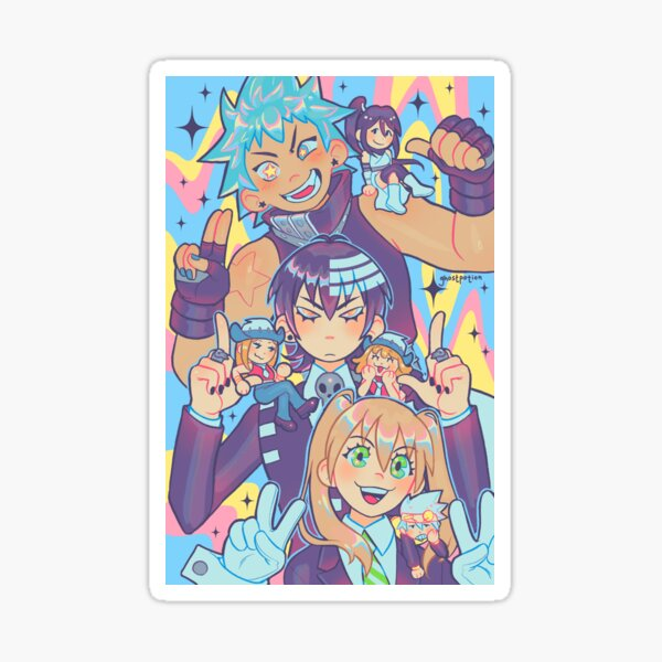 Meisters and minis!  Sticker
