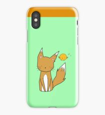 Fox and Bird iPhone Case/Skin