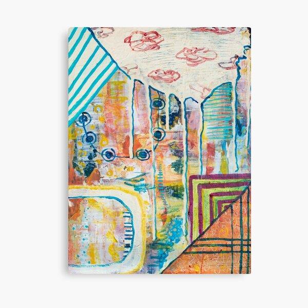Trine, Joanne, Cy & I Canvas Print