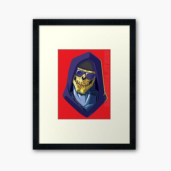 Skeletor - Rappers of the Universes [Heman] Framed Art Print