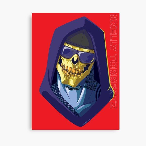 Skeletor - Rappers of the Universes [Heman] Canvas Print