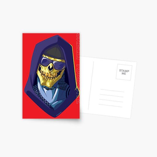 Skeletor - Rappers of the Universes [Heman] Postcard