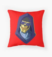 Skeletor - Rappers of the Universes [Heman] Throw Pillow