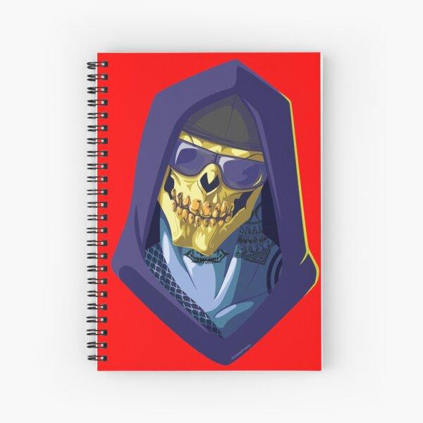 Skeletor - Rappers of the Universes [Heman] Spiral Notebook